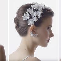 100 años de de evolución en  los peinados de novias, esa difícil elección