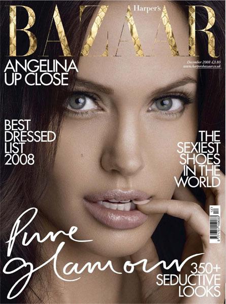 Angelina para Bazaar