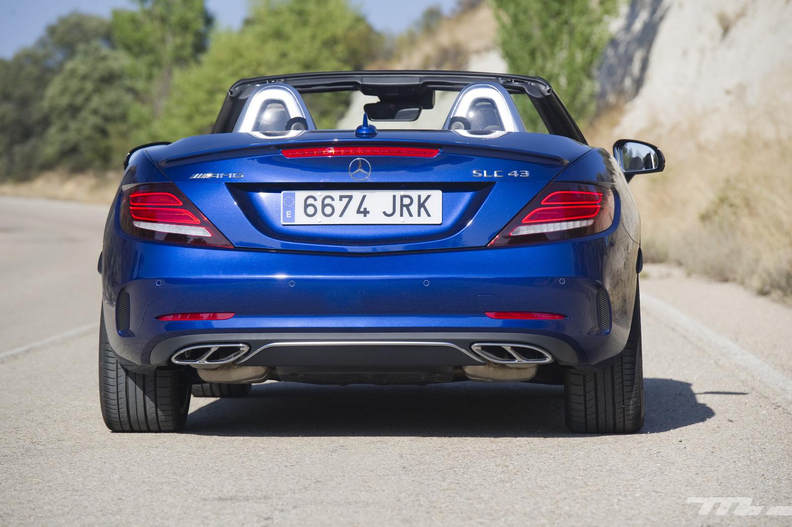 Foto de Mercedes-AMG SLC 43, prueba (4/33)