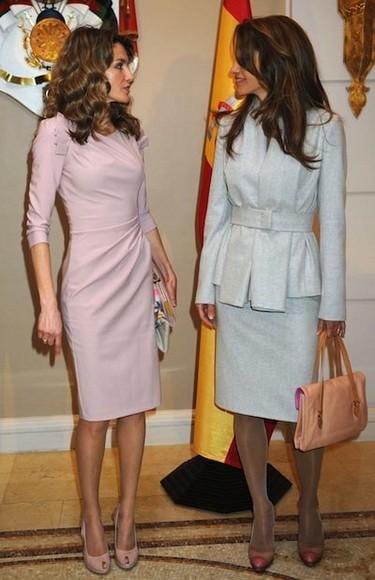 La princesa Letizia y Rania de Jordania, dos estilos parecidos coinciden una vez más