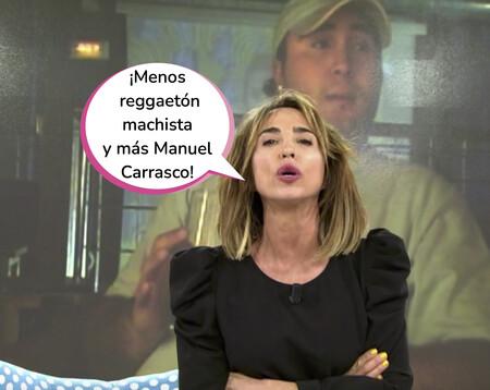 El aplaudido alegato feminista de María Patiño: Esta ha sido su respuesta a las insultantes grabaciones de Kiko Rivera en 'Sálvame'