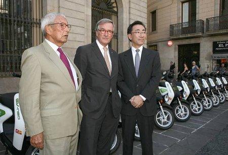 17 Honda EV-neo serán cedidas al Ajuntament de Barcelona