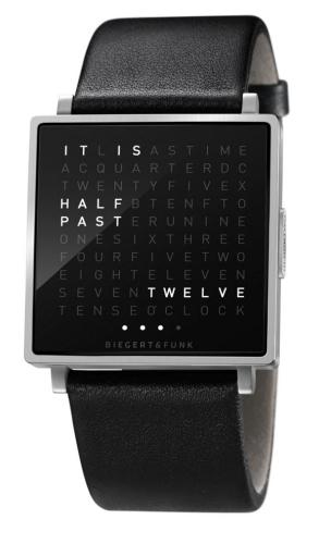 Qlocktwo W: la hora más geek lleva palabras