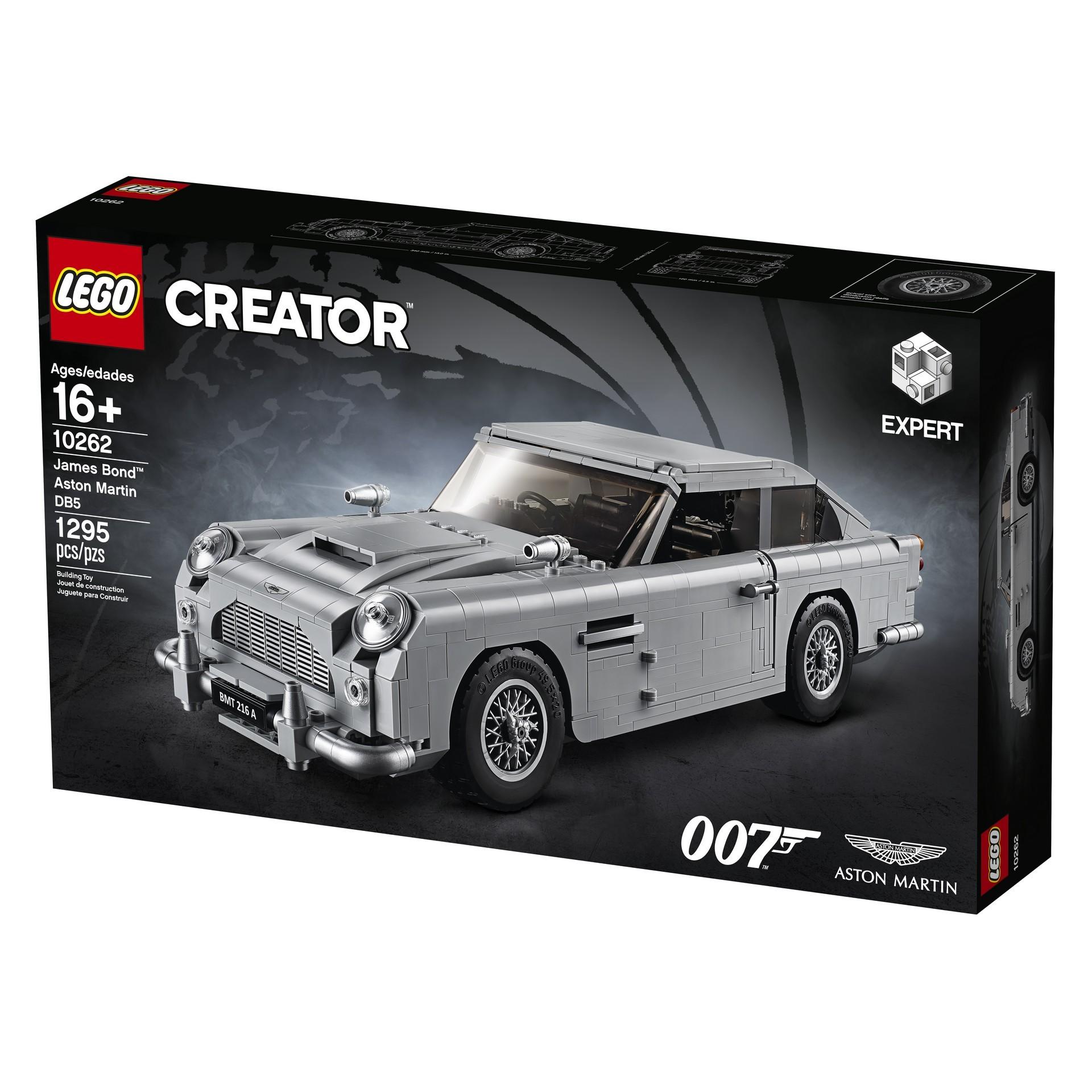 Foto de Aston Martin DB5 007 de LEGO (11/39)