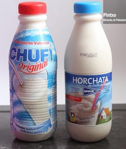 Horchata Chufi Vs Horchata de Hipercor