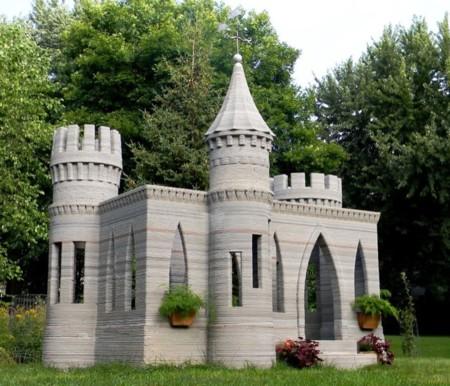 Castillo para niños impreso en 3D