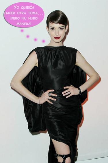 Si fuera por Anne Hathaway, todavía estaría cantando la canción de 'Los Miserables'