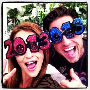 Las celebrities dan la bienvenida al 2013