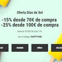 """Oferta """"Días de Sol"""" en Sarenza: hasta 25% de descuento en miles de artículos hasta el 15 de mayo"""