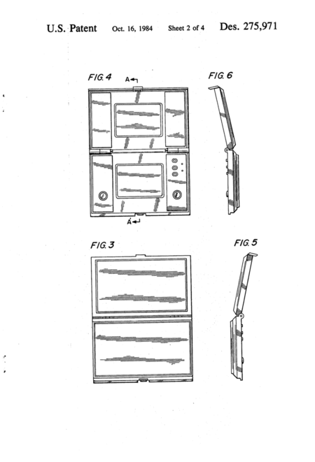 Game And Watch Patent Image