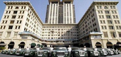 14 Rolls Royce Phantom para un hotel de Hong Kong