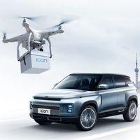 Geely usará drones para entregar las llaves de sus coches nuevos en China: desinfectados y a domicilio