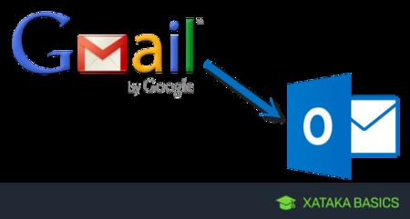 Cómo configurar Gmail en Outlook web
