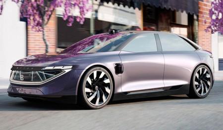 Byton K-Byte Concept, el rival chino del Tesla Model S promete 520 km de autonomía y conducción autónoma