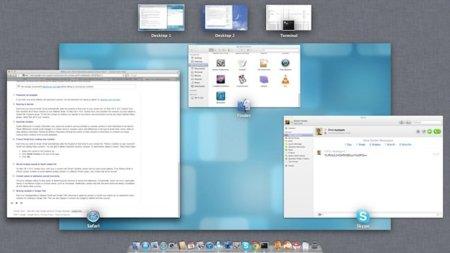Activa las animaciones Motion Blur en el Exposé de OS X Lion