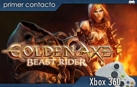 'Golden Axe: Beast Rider', primer contacto