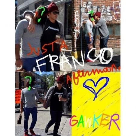 James Franco enamorado, James Franco saliendo con un chico ¿Quién es el hombre misterioso?