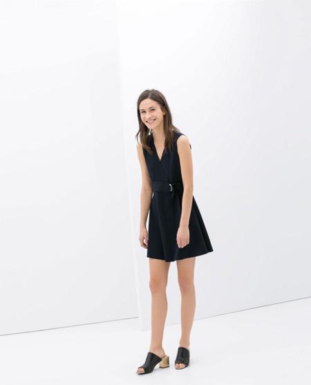 Zara corto vestidos primavera 2014