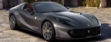 El Ferrari 812 GTS es el nuevo convertible más rápido del mundo