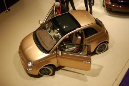 Fiat 500 Pepita, recubierto de oro