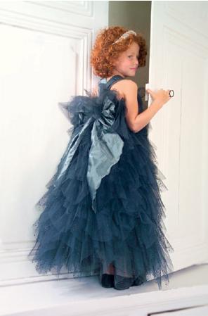 Vestido de fiesta de Max Chaoul et Tartine et Chocolat para niñas de 2 a 10 años