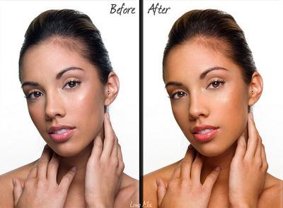 Trabajando el color de la piel