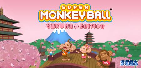Super Monkey Ball: Sakura Edition es el nuevo juego de Sega que puedes descargar gratis en tu Android