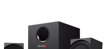 Altavoces 2.1 Creative Sound BlasterX Kratos S3 a su precio mínimo en Amazon: 38,05 euros y envío gratis