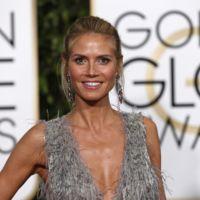 Heidi Klum se convierte en la flapper de los Globos de Oro 2016