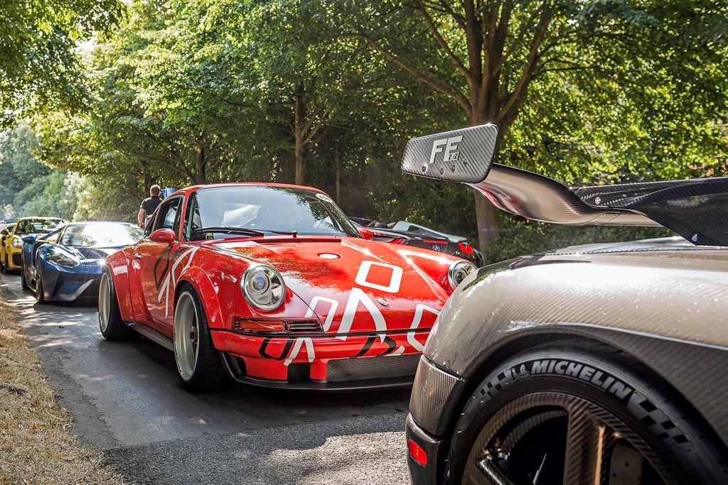 Porsche 911 DLS de Singer