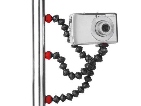 Trípode flexible y peculiar para tu cámara de fotos
