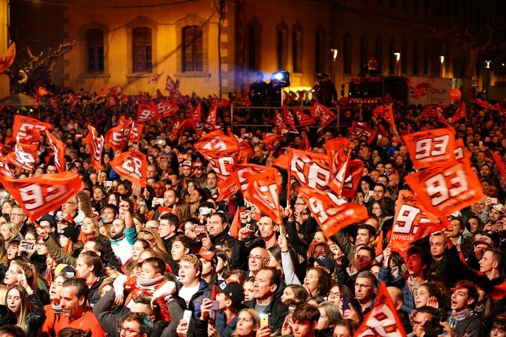 Foto de Celebración del séptimo título de Marc Márquez (7/12)