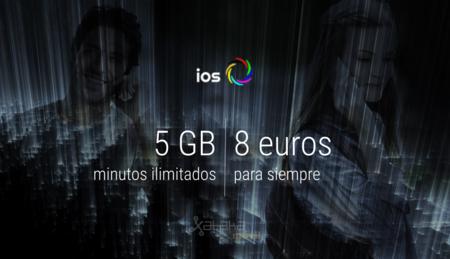 ios móvil rebaja sus 5 GB con minutos ilimitados a 8 euros