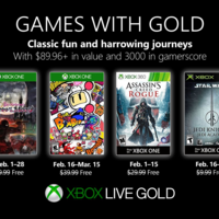 Bloodstained: Curse of the Moon y Assassin's Creed: Rogue entre los juegos de Games With Gold en febrero de 2019