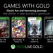 Bloodstained: Curse of the Moon y Assassin's Creed: Rogue entre los juegos de Games With Gold en febrero de 2019