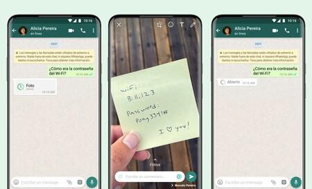 Las fotos que desaparecen llegan a WhatsApp: así funcionan