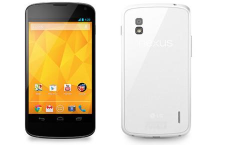 El Nexus 4 blanco ya es oficial, disponible el 29 de mayo