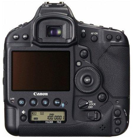 Canon EOS-1D X trasera