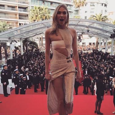 El Festival de Cannes 2015 en Instagram: los nervios del primer día