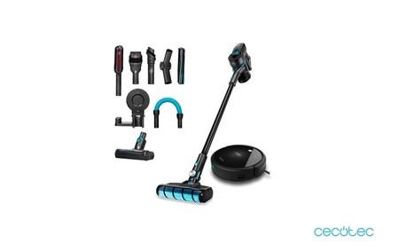 Pack Cecotec en oferta: aspiradora sin cables Conga RockStar 500 Ultimate + robot aspirador Conga Serie 990 por 299 euros