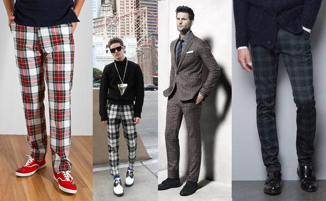 Pantalones De Cuadros Para Hombres Nos Atrevemos Con Esta Tendencia