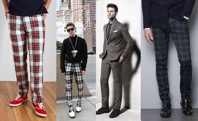 Pantalones de cuadros para hombres ¿Nos atrevemos con esta tendencia?