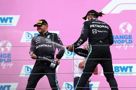 Hamilton Bottas Estiria F1 2021