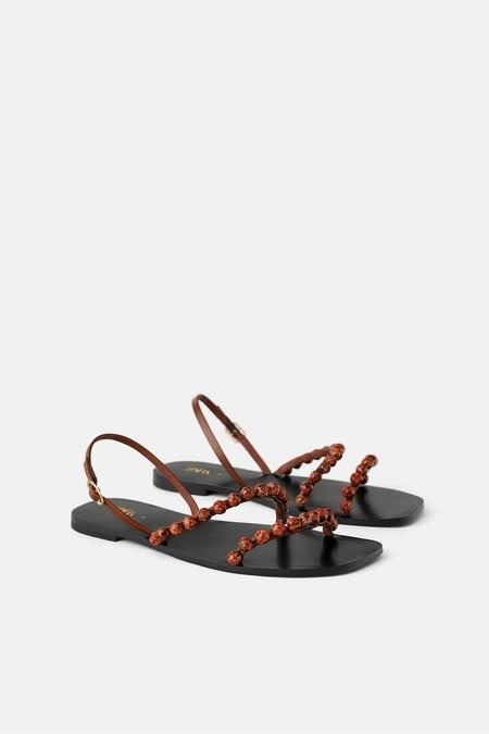 Sandalia Plana Zara 2019 06