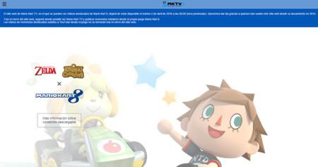 Aviso Web Mario Kart