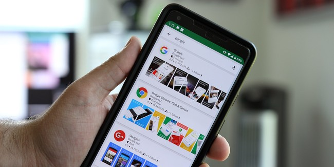 Google Play Search Ui Test
