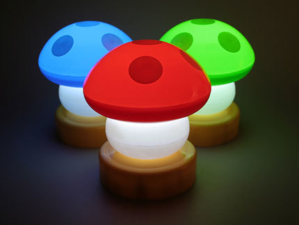 Magic Light Up Mushrooms, ilumina tu habitación al estilo Nintendo