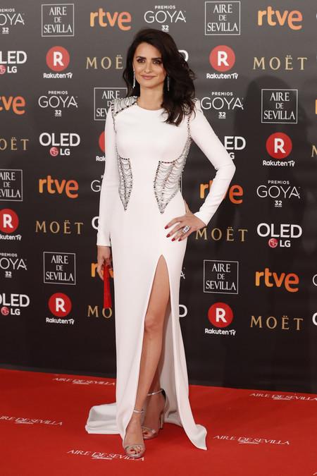 Alfombra Roja Goya 2018 Penelope Cruz Versace