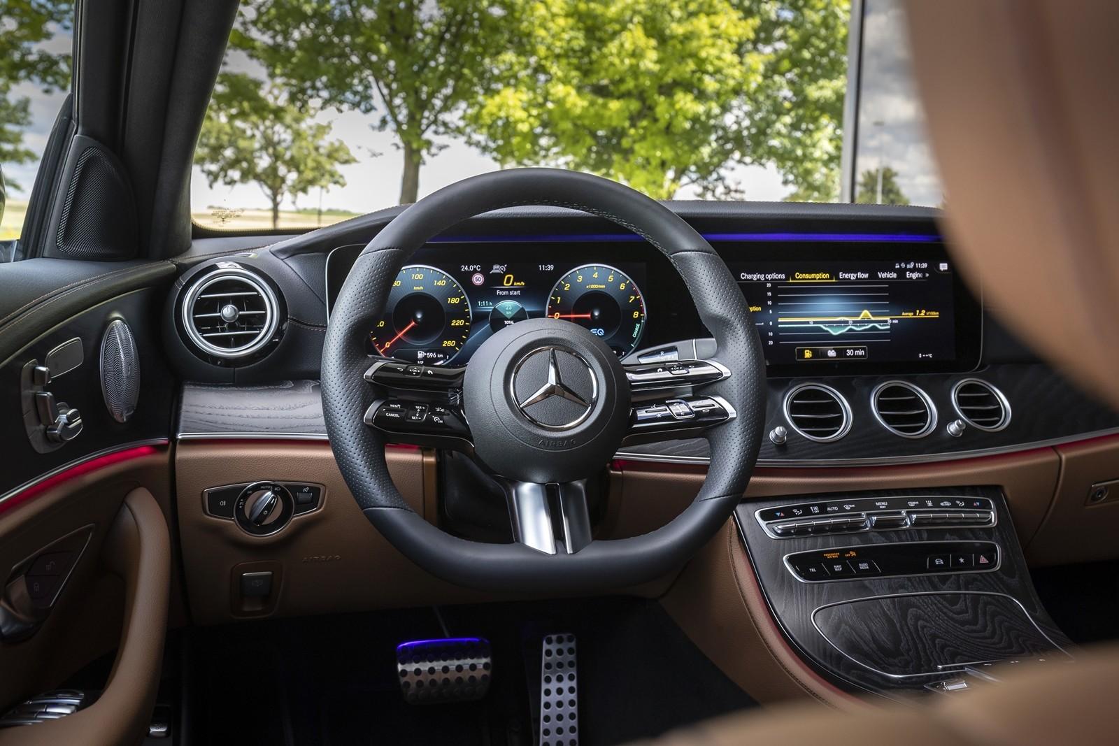 Foto de Mercedes-Benz Clase E 2020, prueba contacto (53/135)