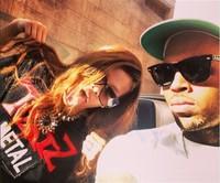 La cosa no va entre Chris Brown y Ri-Ri porque son peques para atarse, ¡es eso!